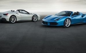 V8 drop-top, Ferrari show off the new 488 Spider in…