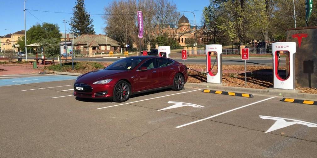 Tesla's Goulburn Supercharger