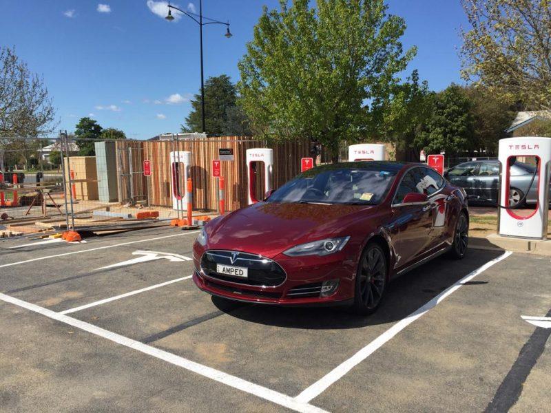 Tesla's Wodonga Supercharger