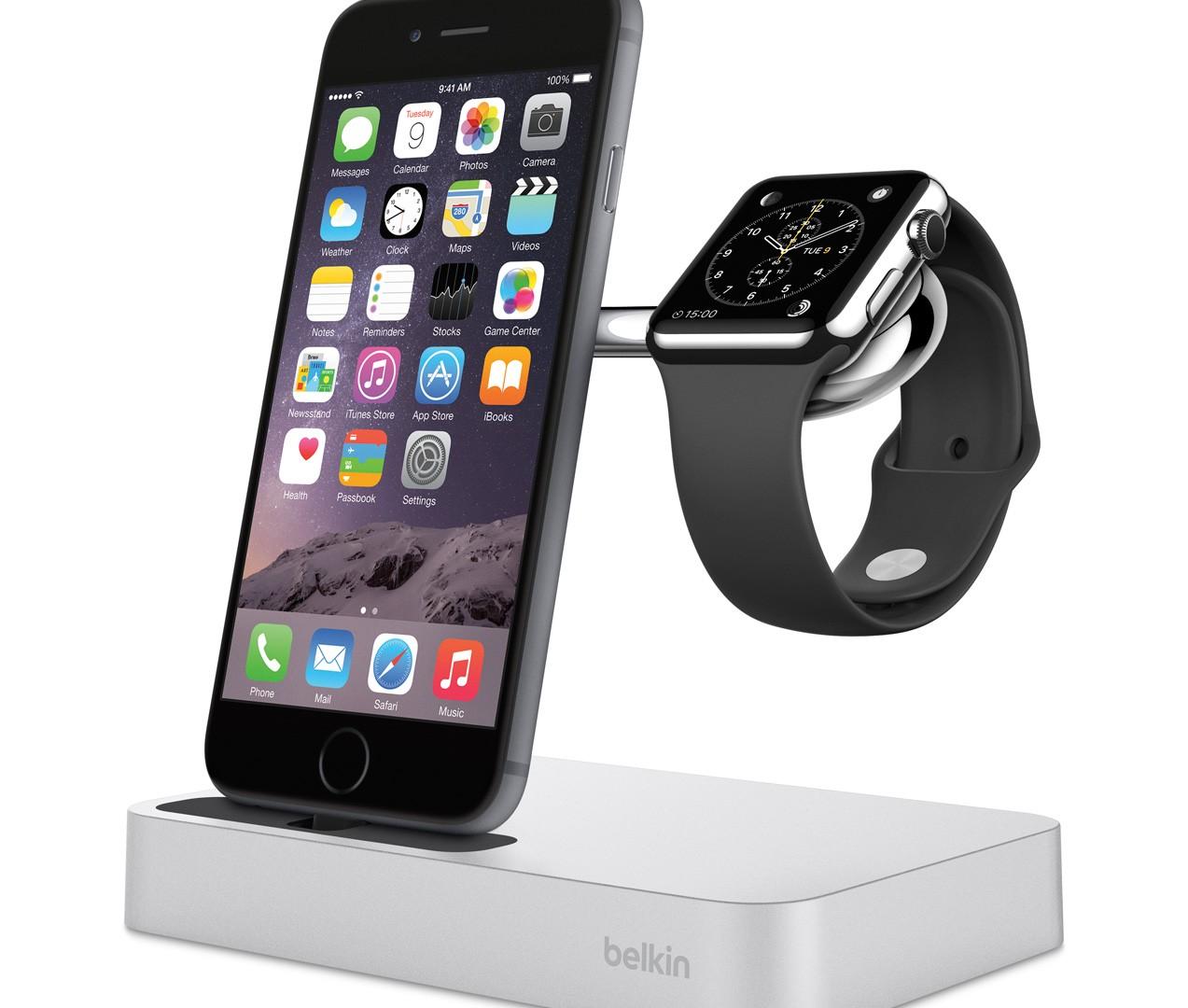 Belkin F8J183_Charge_Dock_iPhone_AppleWatch