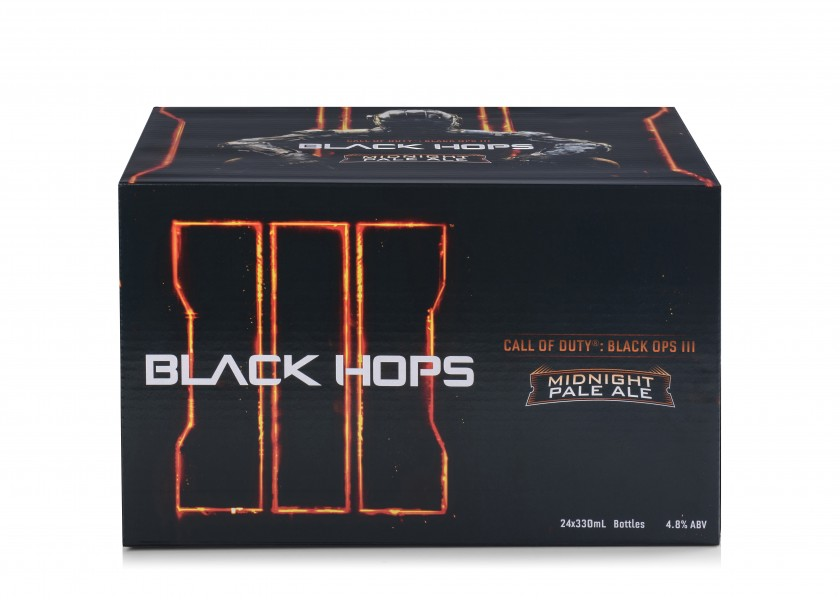 Call of Duty Black Hops Beer - case_no background