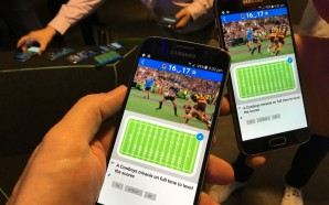 Hands-on with the Telstra LTE-B event broadcast technology