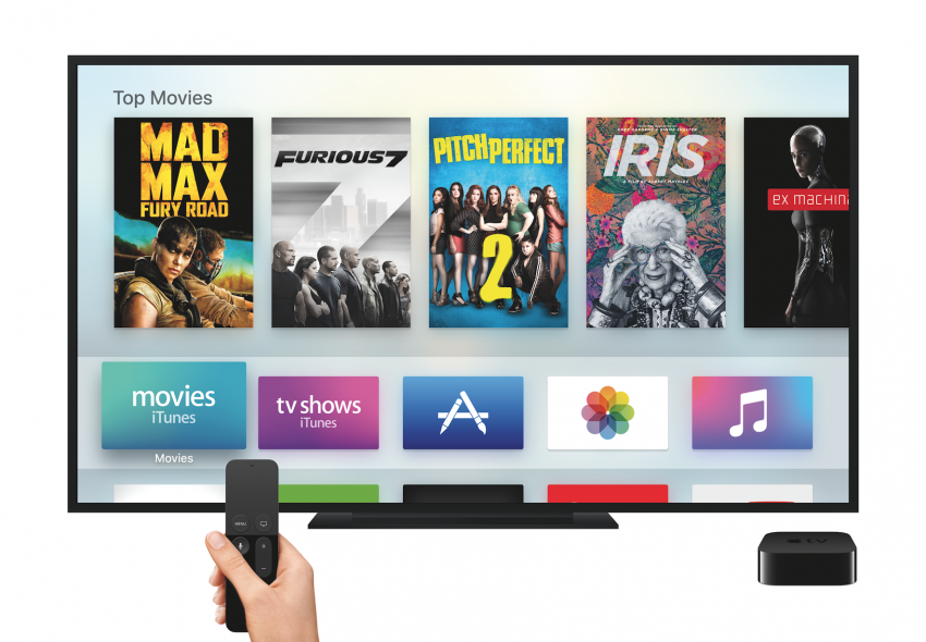 how to change output sound to apple tv
