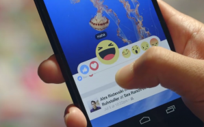 "Facebook's new ""reactions"" adding to the option of ""Like"""