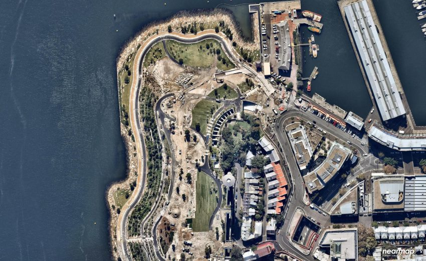 7. Barangaroo April 2015 - nearmap.com