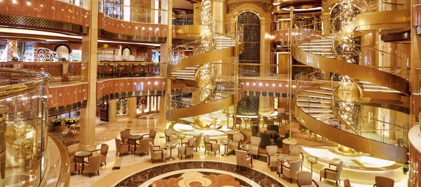 Princess Cruises Atrium