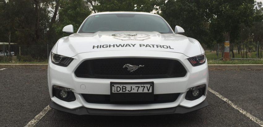 PHOTOS: NSW Police Mustang Highway Patrol car » EFTM