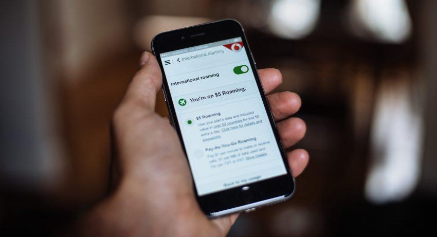 My Vodafone App International Roaming Switch