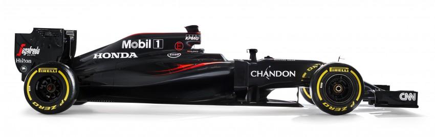 2016 McLaren Honda MP4-31 Side