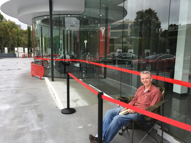 Tesla Fans Gear Up For Model 3 Reveal