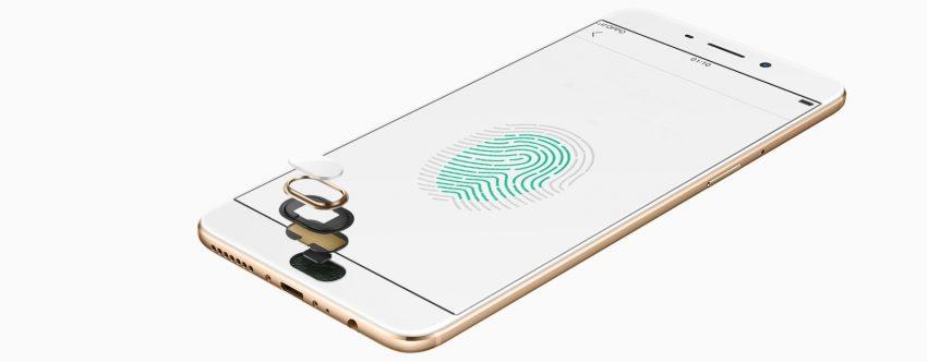Front-facing fingerprint recognition