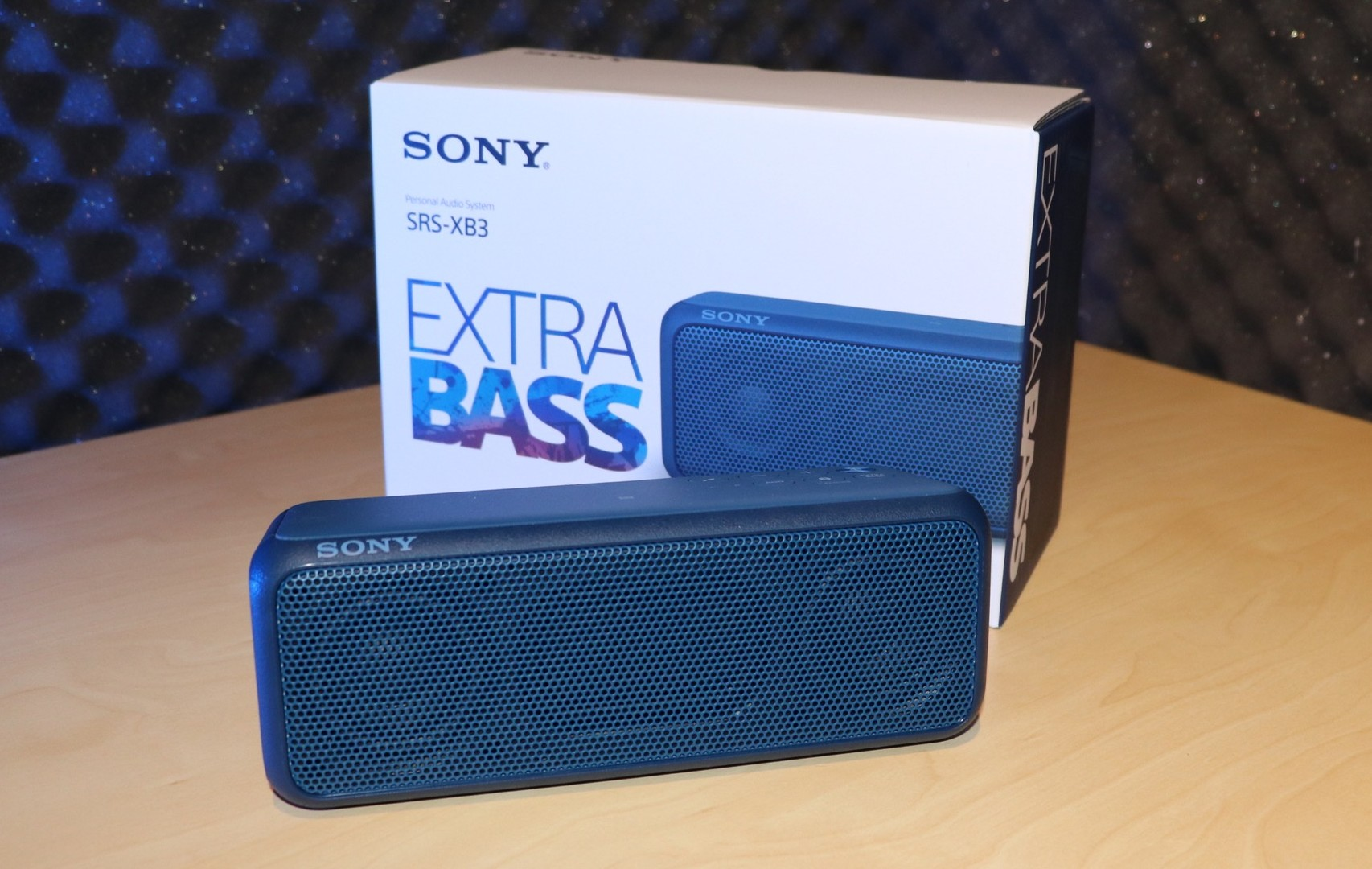 Extra Bass From The Sony Srs Xb3 Bluetooth Speaker Review