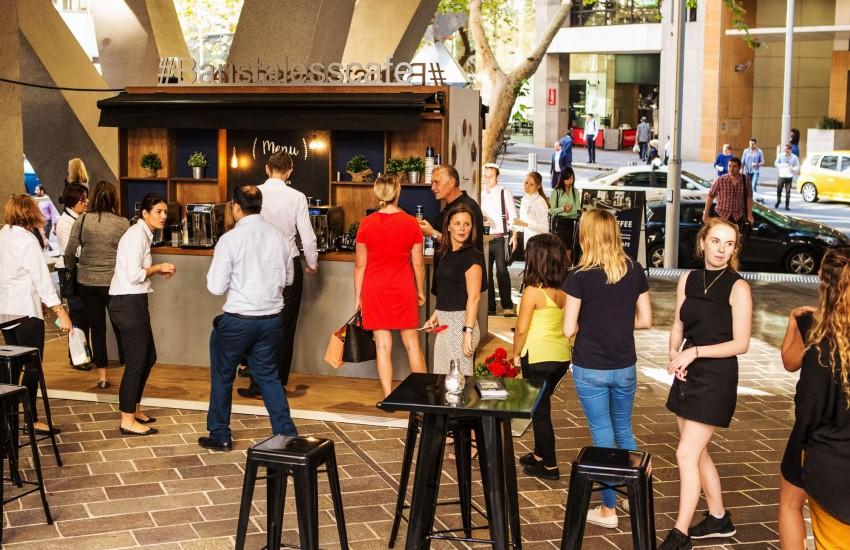 The Barista-less Cafe queue