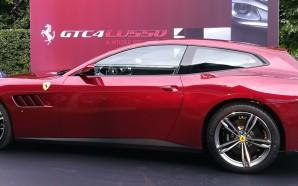 Ferrari's GTC4Lusso makes its debut in Australia