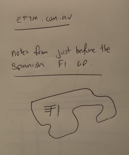 My original hand-drawn note