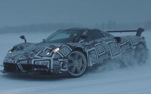 Throwing 750 horsepower sideways in the snow, and controlling it