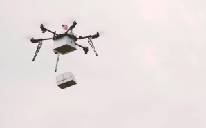 Flirtey delivers ship to shore via Drone delivery