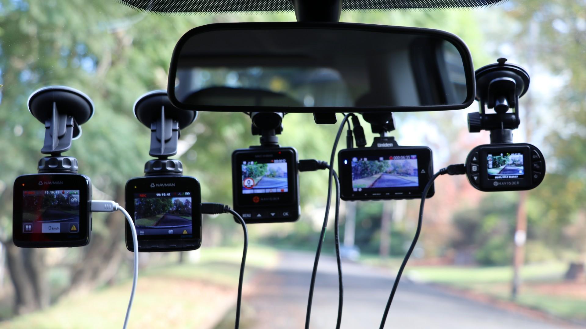 dash cam showdown six cams reviewed eftm. Black Bedroom Furniture Sets. Home Design Ideas