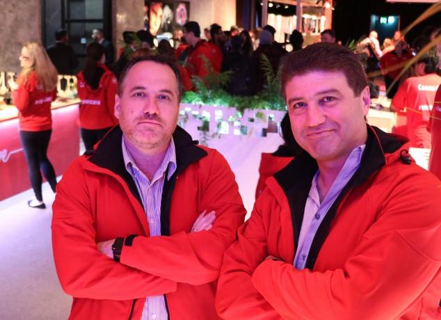Trevor Long and Stephen Fenech - TBTT - Two Blokes Talking Tech, taken at VIVID SYDNEY 2016 in Canon HQ