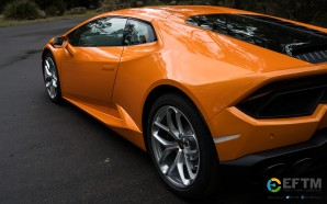 Lamborghini Huracán Desktop Wallpaper – Put the Orange beast on…
