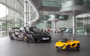 Fully electric McLaren P1 with stunning top speed available October