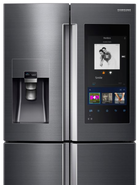 Samsung Family Hub Smart Fridge With Woolworths App Now