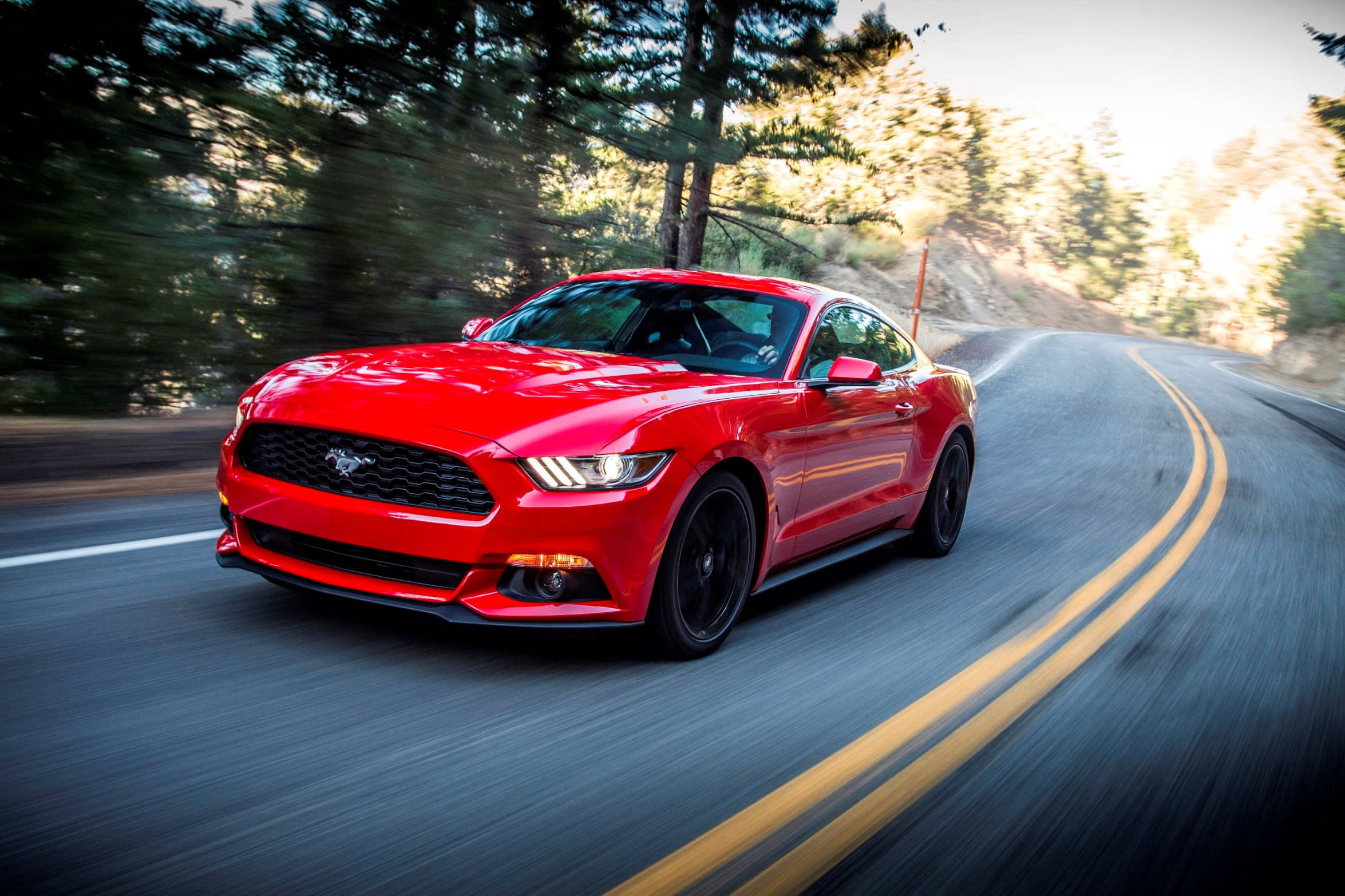 A ford mustang can drive 27km on just 1 litre of petrol eftm