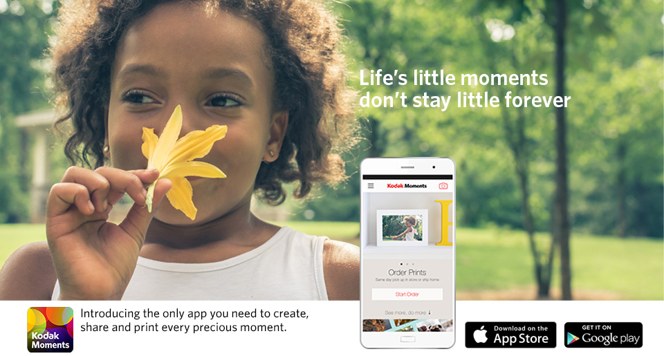 Kodak printing photos from your smartphone delivered to your door » EFTM