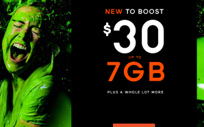 Boost offering up to 7GB of data for $30 a…