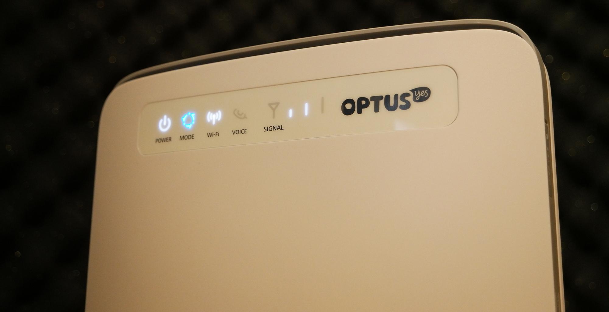 Optus Home Wireless Broadband: No ADSL? No NBN? This is plug