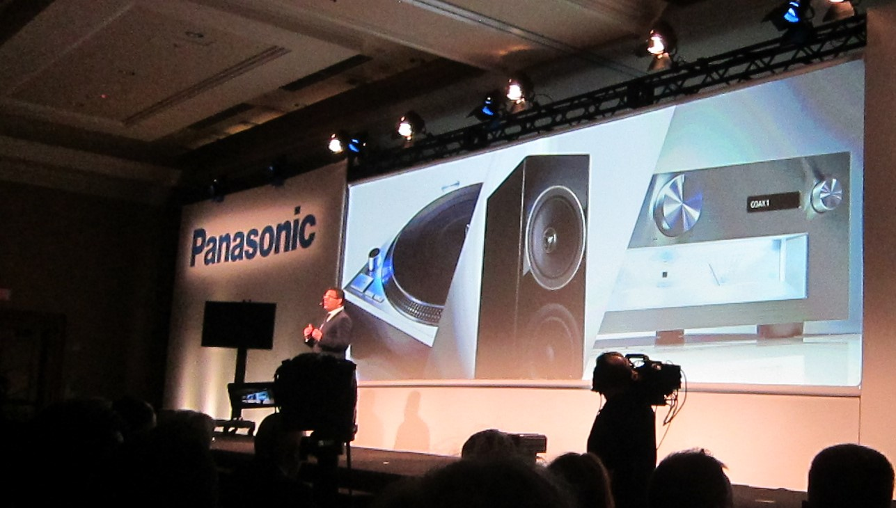 All three on stage at CES.