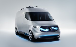 The Mercedes Vision Van at CES 2017