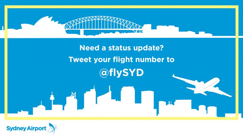 Sydney Airport launches real time flight information service
