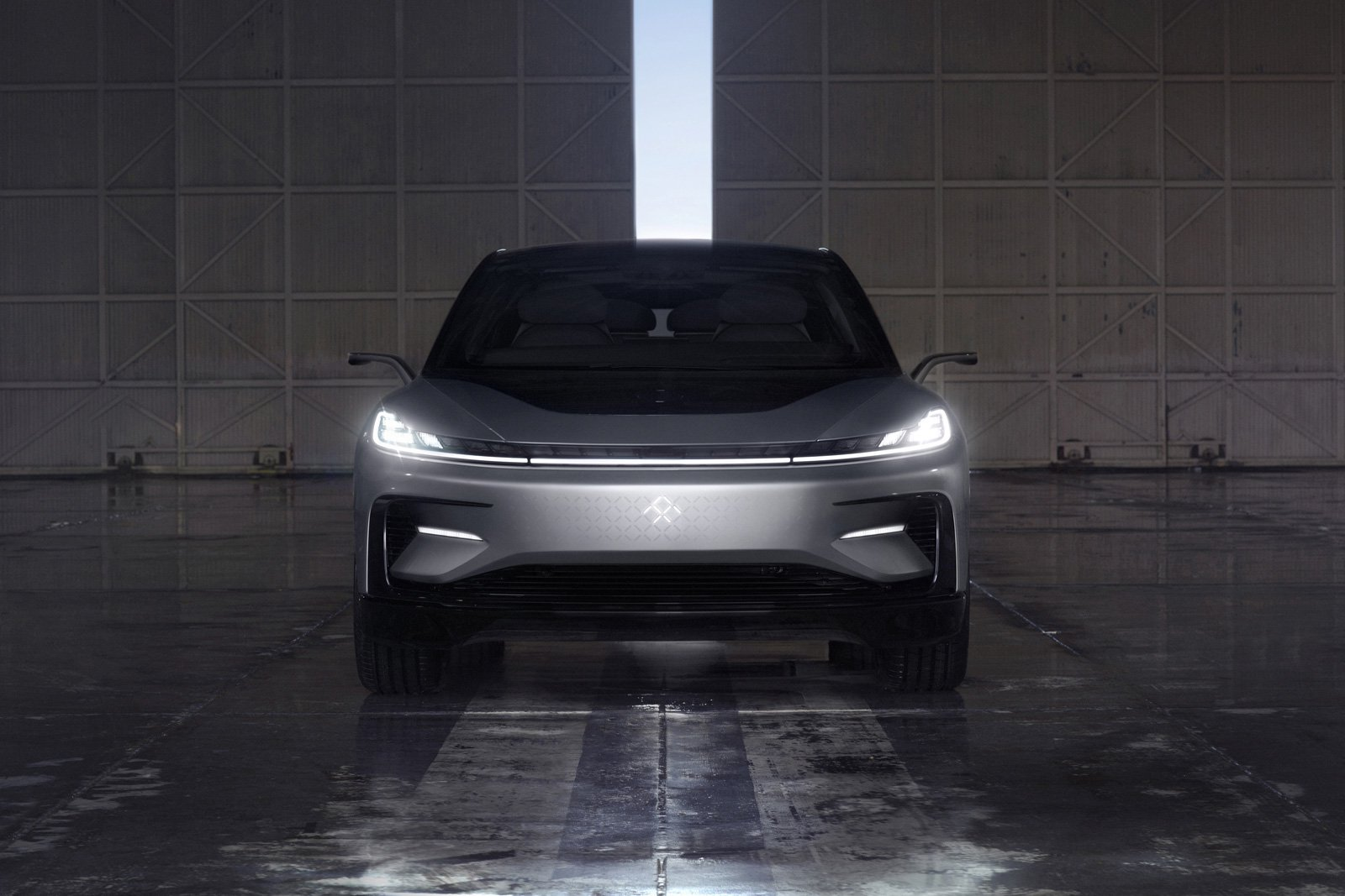Faraday Future unveils first passenger vehicle