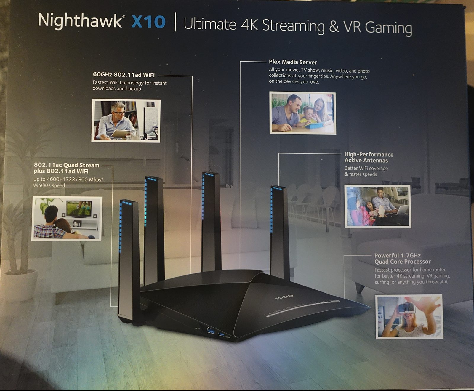 Netgear Nighthawk X10 Review - Ultimate in many ways, over the top