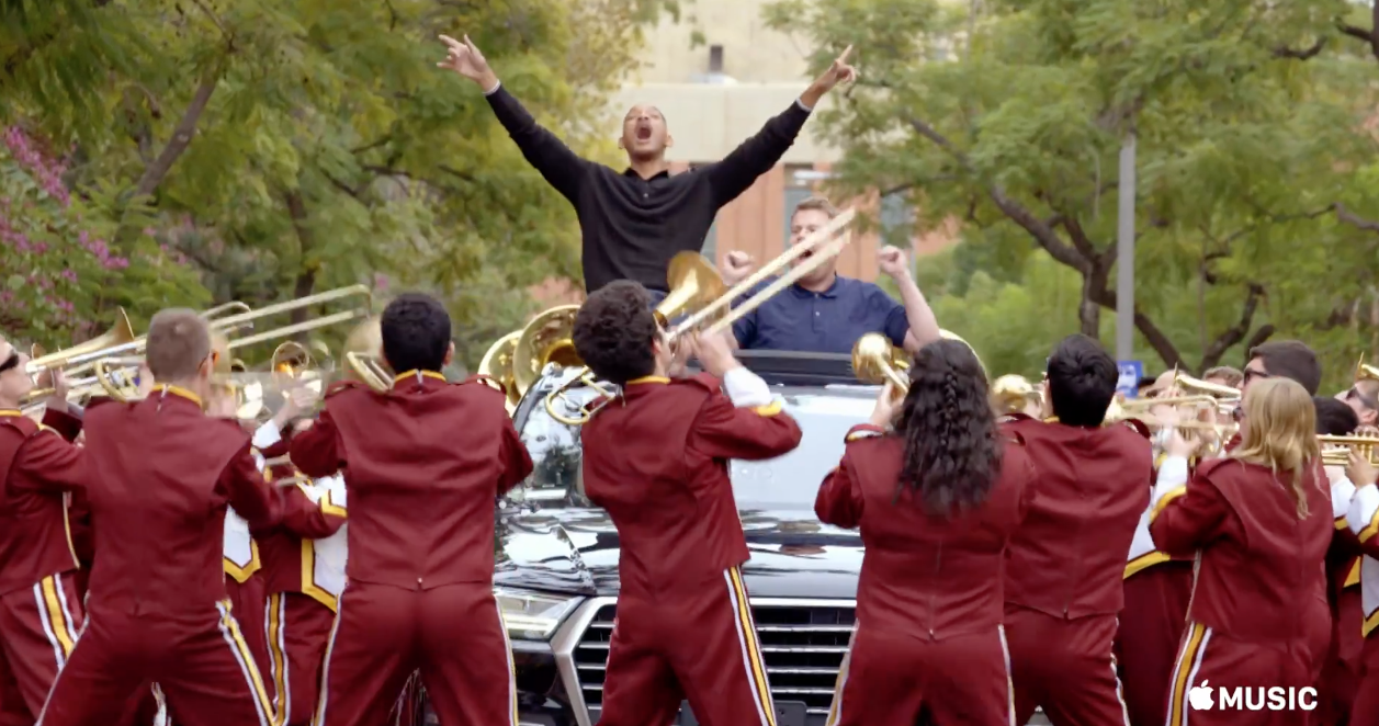 Apple Releases First Trailer For 'Carpool Karaoke' Series class=