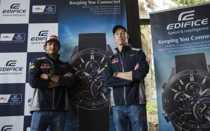Limited edition Casio Edifice Toro Rosso watches launched at Melbourne…