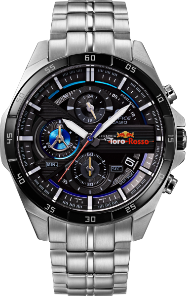 Limited edition Casio Edifice Toro Rosso watches launched ...