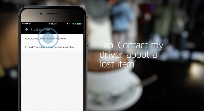 Lost something in a cab? Now Uber connects you with your