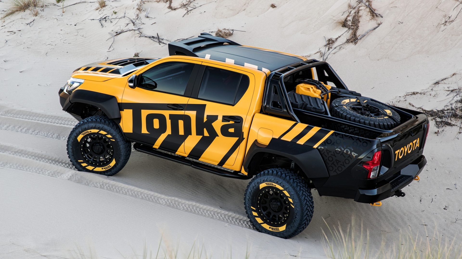 Toyota Introduces The Tonka Hilux Unbreakable Concept 187 Eftm