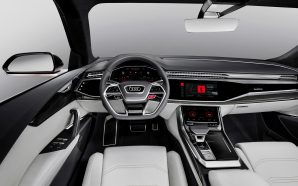 Audi demonstrate a Q8 sport concept with built-in Android infotainment