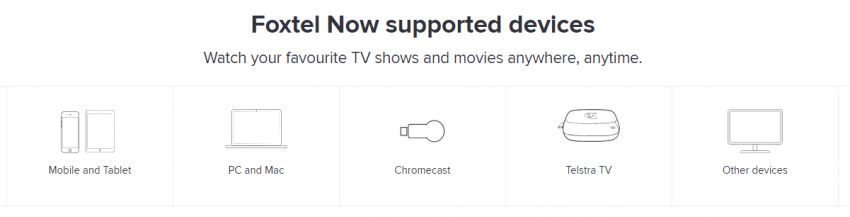 Foxtel Now launches with HD, Chromecast Support & a new logo