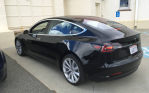 NEW: Tesla Model 3 Photos – getting ready for reveal…