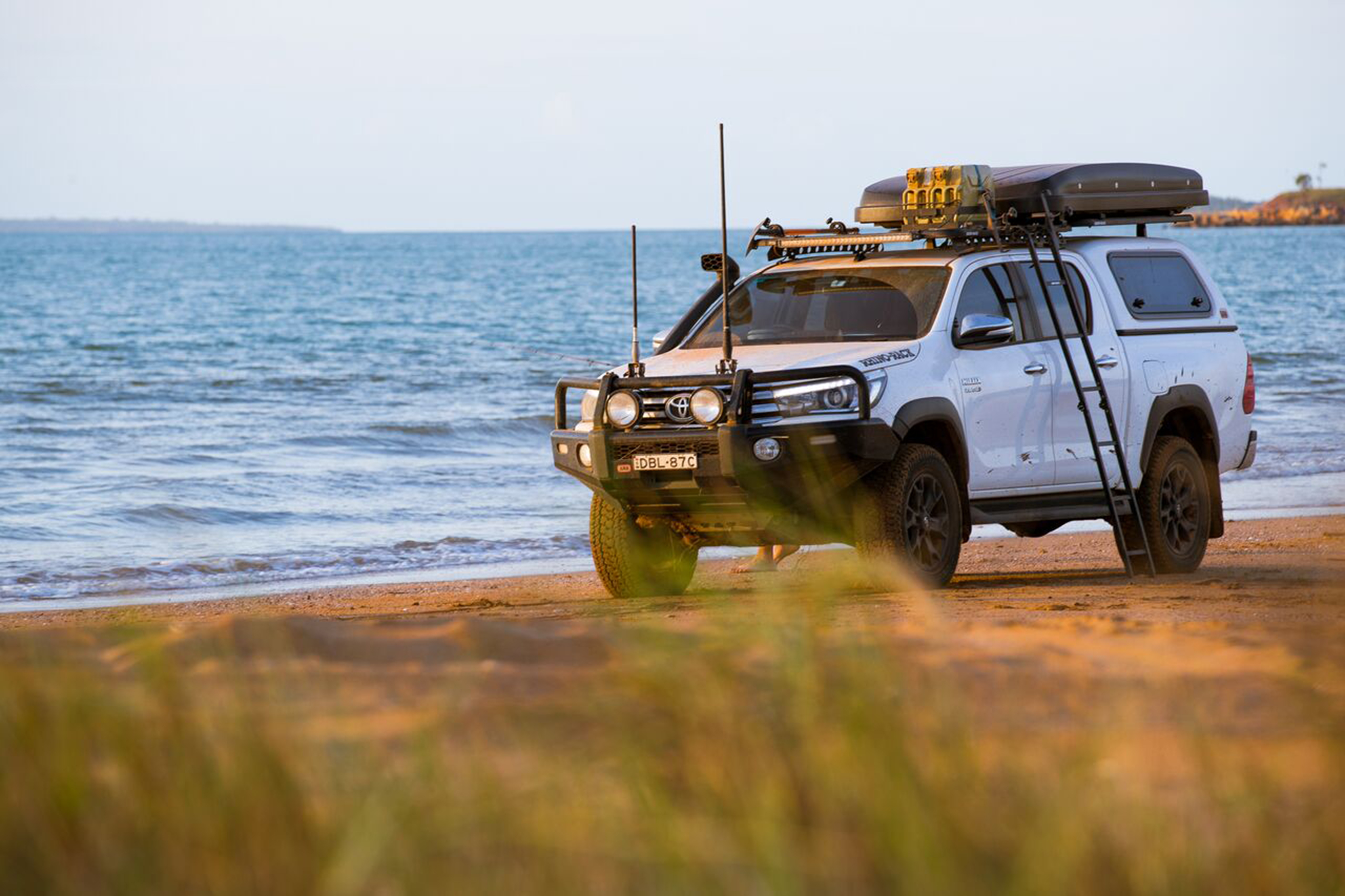 Folding Ladder For Your Next 4x4 Adventure From Aussie
