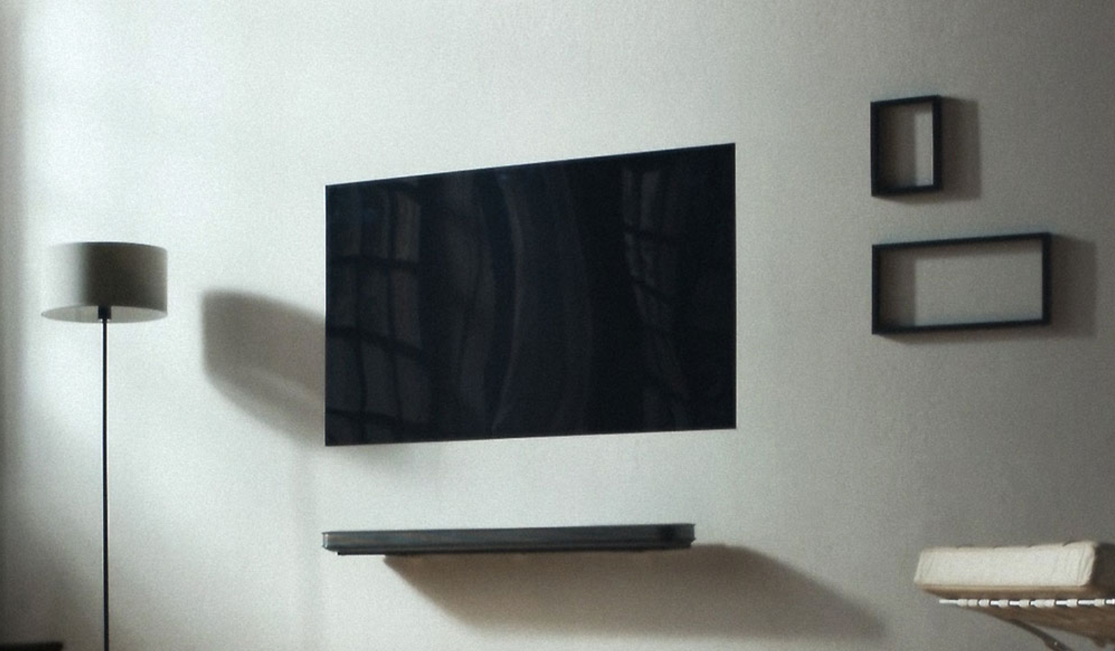 LG's Wallpaper TV goes big: 77 Inch super-thin TV available in
