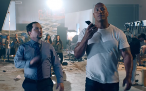 "The Rock and Siri star in an Apple ""movie"" that…"
