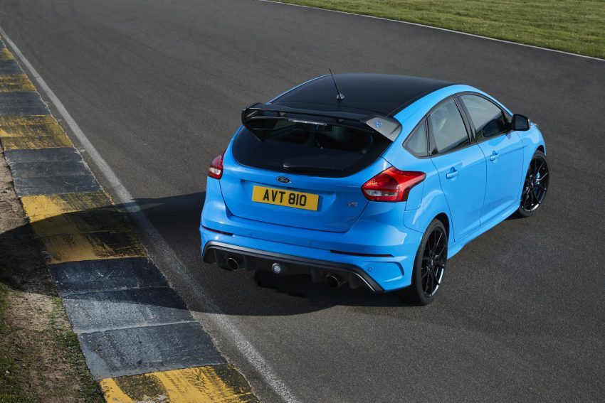 New Ford Focus RS Limited Edition revealed