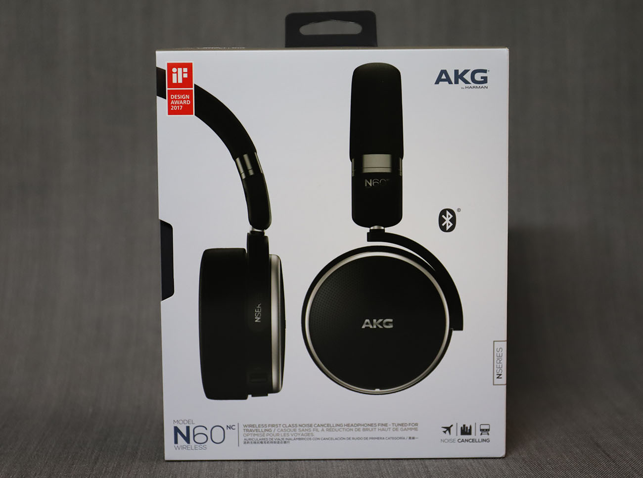 427d9feaa47 AKG N60 Noise Cancelling headphone review: Comfortable with a great sound »  EFTM