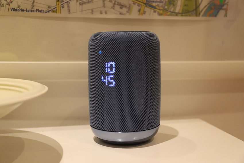 Sony LF-S50G Wireless Speaker launches with built-in Google Assistant