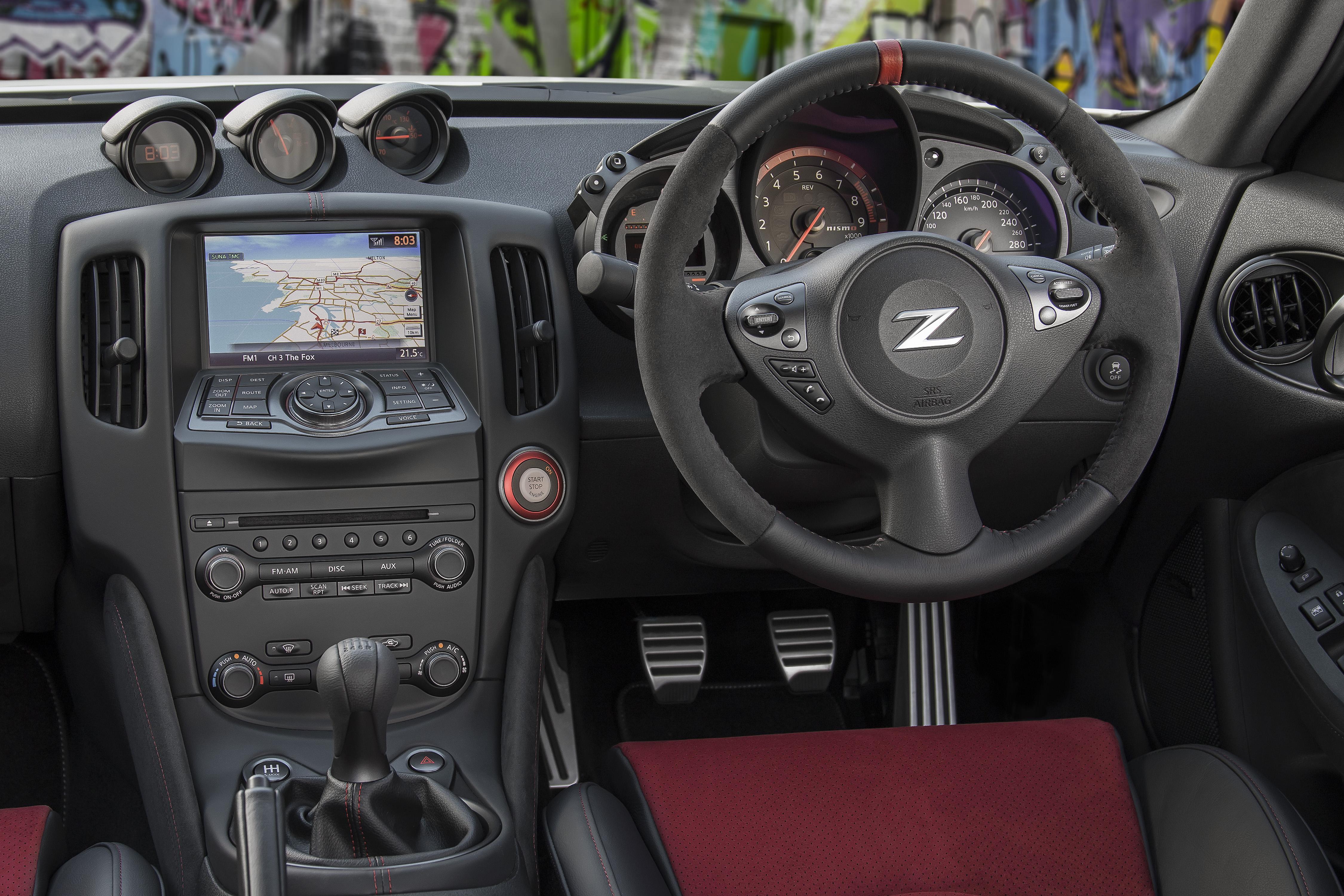 Nissan 370z Nismo Interior 13 Eftm